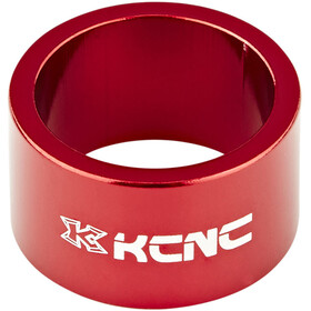 "KCNC Headset Spacer 1 1/8"" 20mm, red"